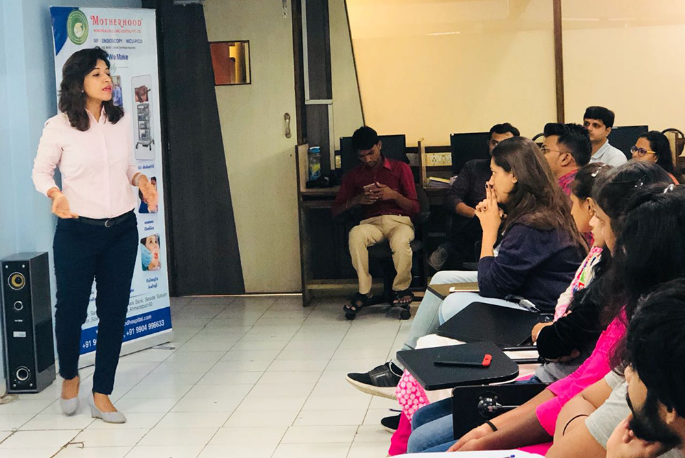 Nutrition seminar by Dr. Riddhi Nanda at NIMJC institute